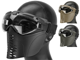 Matrix Full Face Mask Set with Full Seal Goggles