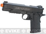 Red Jacket Firearms 1911 A1 Full Metal CO2 Airsoft GBB Pistol by Elite Force / KWC