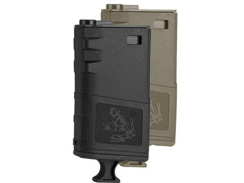 G&P 140rd Short Handled Skull Frog Hi-Cap Magazine for M4 / M16 Series Airsoft AEG Rifles