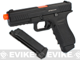 Pre-Order Estimated Arrival: 10/2014 --- APS ACP Full Metal CO2 Powered Airsoft GBB Gas Blowback Pistol with Extra Magazine