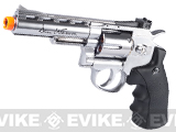 ASG Licensed Dan Wesson WG CO2 Full Metal  High Power Airsoft 6mm Magnum Gas Revolver (Length: 4 / Silver)