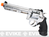 HFC 6 Bull Barrel Savage Bull Full Size Arisoft Gas Revolver (Color: Chrome)