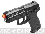 Bone Yard - Heckler & Koch Full Metal USP Compact NS2 Airsoft Gas Blowback Gun by KWA (Store Display, Non-Working Or Refurbished Models)