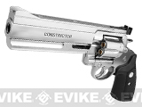 Marushin Constrictor Maxi 8mm Full Size Airsoft Gas Revolver - Chrome