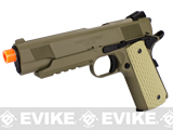 Socom Gear WE Full Metal 1911 Desert Combat Elite (Desert Tan Color) Airsoft Gas Blowback Package