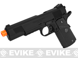 Socom Gear WE Full Metal 1911 Special Unit (Tactical Black) Airsoft Gas Blowback w/ Lanyard.