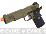 Socom Gear WE Full Metal 1911 Special Unit Airsoft Gas Blowback Pistol w/ Lanyard (Color: Black and Tan)