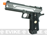 "WE-USA ""5.1 Expert"" 2011 HI-CAPA Railed Frame Heavy Weight Airsoft Gas Blowback Pistol - Two-Tone"