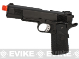 WE Full Metal 1911 Tactical MEU Heavy Weight Airsoft Gas Blowback w/ Railed Frame