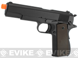 WE-USA NG3 Full Metal 1911 GI Full Size Airsoft GBB Pistol
