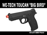 FREE DOWNLOAD -  Manual for WE-Tech Toucan Big Bird Airsoft GBB Pistol Instruction / User Manual