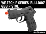 FREE DOWNLOAD -  Manual for WE P Series 'Bulldog' Gas Blowback Gun Instruction / User Manual
