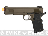 Pre-Order Estimated Arrival: 10/2014 --- WE Full Metal 1911 MEU Railed Frame Heavy Weight Airsoft Gas Blowback Pistol - OD Green