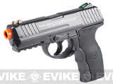 WG Full Metal W3000 Airsoft Co2 Powered Airsoft Gas Pistol - Black
