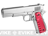 z Evike Custom Chrome Falcon 1911 - (Red)