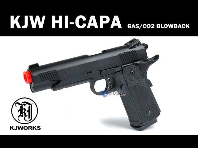 FREE DOWNLOAD -  Manual for KJW HI-CAPA Gas Blowback Gun Instruction / User Manual
