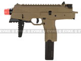 KWA KMP9 New Version Railed Gas Blowback Airsoft Submachine Gun (NS2 System) - Dark Earth