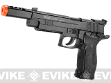 z Sig Sauer Licensed P226 S Full Metal CO2 Airsoft Gas Blowback Pistol (X-Five Open Custom)