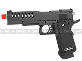 Pre-Order Estimated Arrival: 07/2013 --- WE Full Metal Hi-CAPA Hyper Speed Airsoft Gas Blowback (Threaded Barrel / Railed Frame)