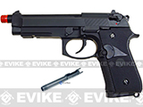 WE CQB Master Full Metal M9 PTP Airsoft Gas Blowback - USMC Spec Op Edition