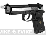 Pre-Order Estimated Arrival: 05/2014 --- WE M9A1 S.O.C. Special Edition Gas Blowback Pistol - Two Tone Stainless Chrome -