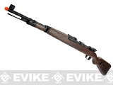 Matrix KAR 98K Bolt Action Rifle w/ Real Wood Stock by S&T (Model: Spring Powered)