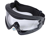 Hakkotsu High Peripheral X-Eye 260 Degree Wide Angle Goggle Set - (Black)