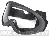 Matrix Military Style Clear View Tactical Sand Goggles - Black