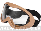 "Matrix USMC Type ""Clear View"" Tactical Sand Goggles - (Tan)"