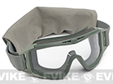 Revision Desert Locust Goggles - Basic (Foliage Green / Clear)