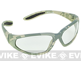 Global Vision Extreme Sports Safety Shooting Goggles - Clear Lens / ACU Marpat