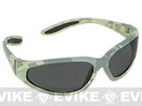 Global Vision Extreme Sports Safety Shooting Goggles - Shaded Lens / ACU Marpat