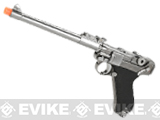 WE WWII Full Size / Metal Luger Airsoft Gas Blowback - 8