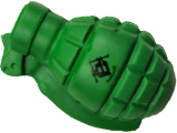 Evike.com Official Licensed Stress Relief Hand Grenade For Airsoft and Carpal Tunnel (Green)