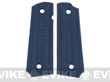 Matrix Spec. Op. Nylon Fiber Hand Grip For 1911 Airsoft Gas Blowback Pistols - Navy Blue