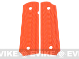 Matrix Spec. Op. Nylon Fiber Hand Grip For 1911 Airsoft Gas Blowback Pistols - Orange