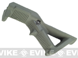 Magpul PTS Licensed AFG (Angled Fore Grip) Rail-Mounted Forward Grip - Foliage Green