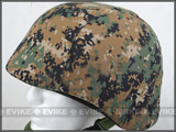 Matrix Military-Spec Enhanced PASGT Combat Helmet Cover - (Digital Woodland)