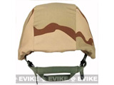 Matrix Military Style Enhanced PASGT Combat Helmet Cover - (Desert Camo)