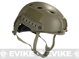 Emerson Bump Type Tactical Airsoft Helmet (BJ Type / Advanced / Dark Earth / Medium - Large)