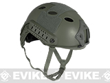 Emerson Bump Type Tactical Airsoft Helmet (Type: PJ / Advanced / Foliage Green / Medium - Large)