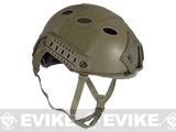 6mmProShop Advanced PJ Type Tactical Airsoft Bump Helmet (Color: Dark Earth / Large - Extra-Large)