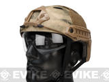 Emerson Bump  Helmet w/ Flip-down Retractable Visor (PJ Type / Arid Foliage)