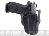 Blade-Tech Revolution Paddle Holster w/ Adjustable Belt Attachment (Model: FNH 45 / Black / Right Hand)