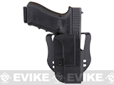 Blade-Tech Revolution Paddle Holster w/ Adjustable Belt Attachment (Model: Glock 17 / Black / Right Hand)