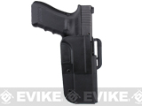 Blade-Tech Revolution Paddle Holster w/ Adjustable Belt Attachment (Model: Glock 34 / Black / Right Hand)
