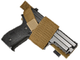 Hazard 4 Stick-Up Modular Universal Pistol Holster (Color: Coyote)