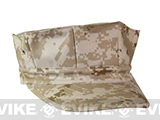 U.S. Military Government Spec US Marine Style Fatigue Cap (No Emblem) - Digital Tan