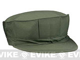U.S. Military Government Spec US Marine Style Fatigue Cap (No Emblem) - OD Green