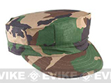 U.S. Military Government Spec US Marine Style Fatigue Cap (No Emblem) - Woodland